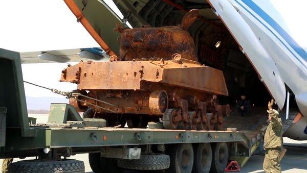Un tanque estadounidense de los tiempos de II Guerra Mundial se preparará para el 9 de mayo - Sputnik Mundo