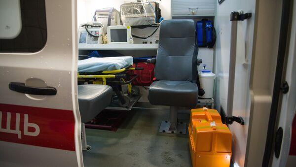 Una ambulancia rusa - Sputnik Mundo