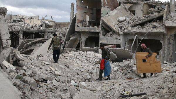 Situación en Duma, (Siria archivo) - Sputnik Mundo