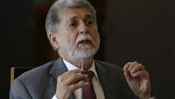 Celso Amorim, diplomático brasileño - Sputnik Mundo