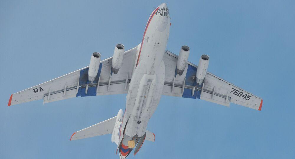 Avión Il-76 (imagen referencial)