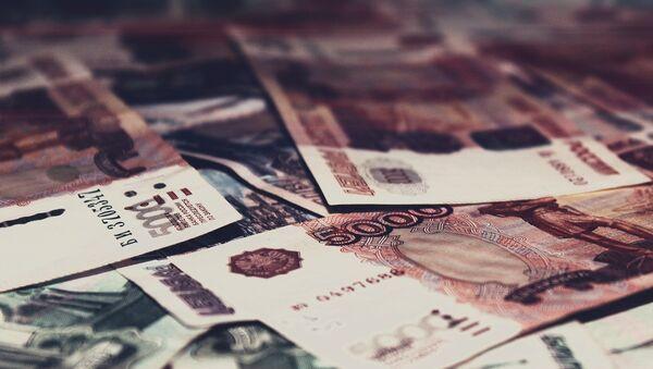 Billetes de cinco mil rublos - Sputnik Mundo