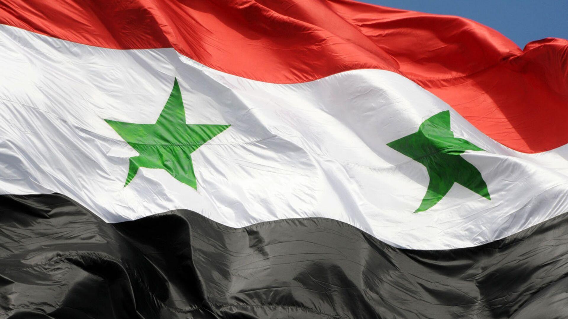 La bandera de Siria - Sputnik Mundo, 1920, 26.02.2021