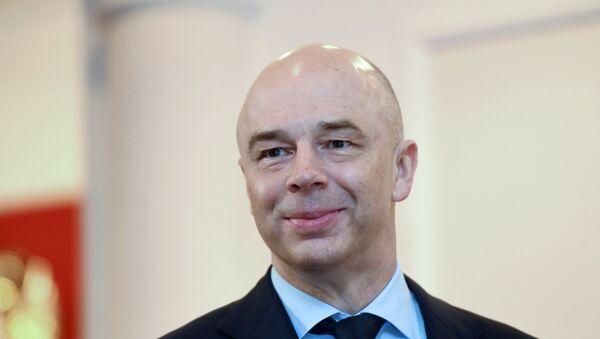 Ministro de Finanzas de la Federación Rusa, Antón Siluánov - Sputnik Mundo