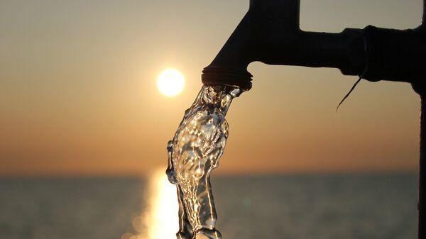 Agua (imagen referencial) - Sputnik Mundo