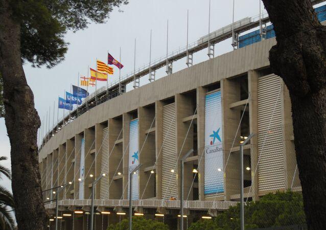 El estadio Camp Nou, Barcelona