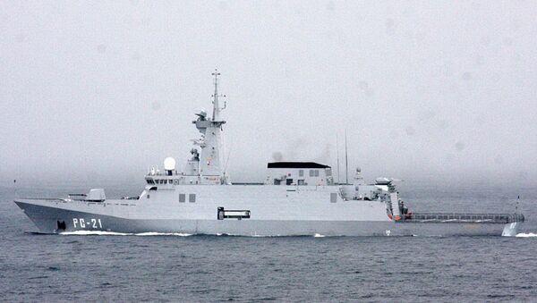 Un barco de guerra Avante 2200 - Sputnik Mundo