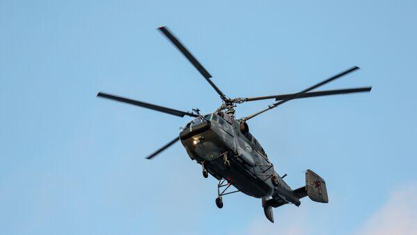Un helicóptero ruso Ka-29 (imagen referencial) - Sputnik Mundo