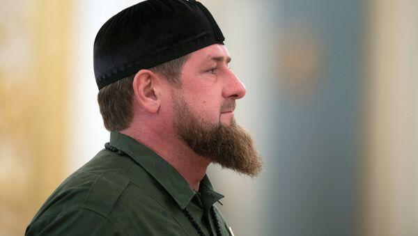 Ramzán Kadírov, dirigente de Chechenia (archivo) - Sputnik Mundo