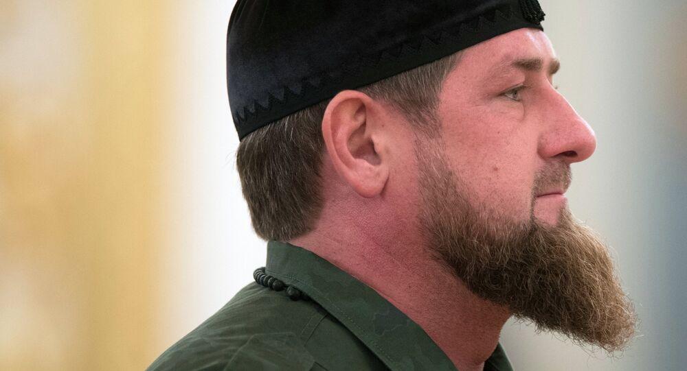 Ramzán Kadírov, líder de Chechenia (archivo)