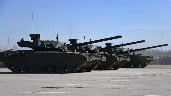 Tanques T-14 Armata - Sputnik Mundo
