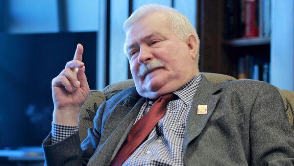 Lech Walesa, expresidente polaco (archivo) - Sputnik Mundo