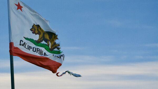 Bandera de California - Sputnik Mundo