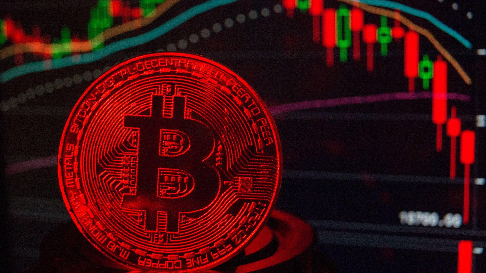 Bitcoin (imagen referencial) - Sputnik Mundo, 1920, 24.05.2021