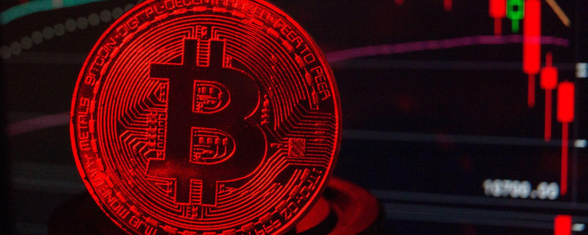 Bitcoin (imagen refercial) - Sputnik Mundo, 1920, 19.05.2021
