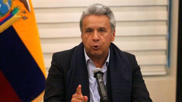 Conferencia de prensa de Lenín Moreno. - Sputnik Mundo