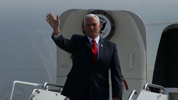 El vicepresidente de EEUU, Mike Pence, llegó a Lima - Sputnik Mundo