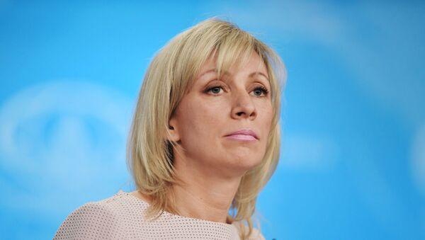 María Zajárova, la portavoz del Ministerio de Exteriores de Rusia (archivo) - Sputnik Mundo