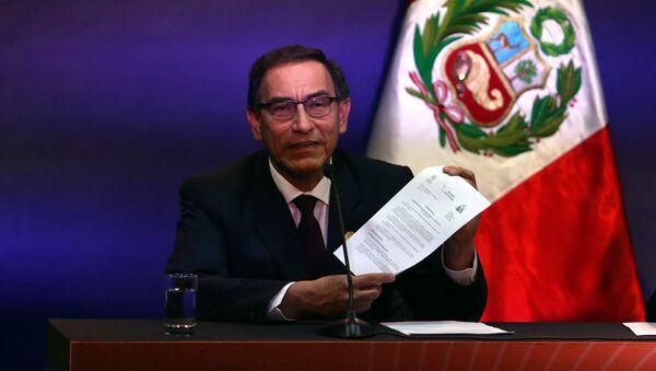Martín Vizcarra, vicepresidente de Perú - Sputnik Mundo