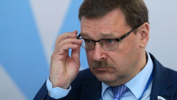 Konstantín Kosachov, senador ruso - Sputnik Mundo
