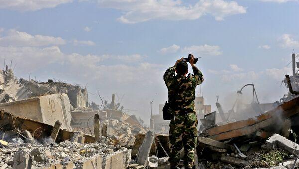Las consecuencias del ataque de EEUU y sus aliados contra Siria - Sputnik Mundo