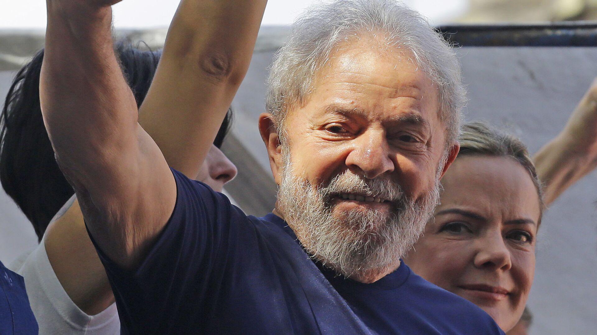 Luiz Inácio Lula da Silva, expresidente de Brasil  - Sputnik Mundo, 1920, 08.03.2021