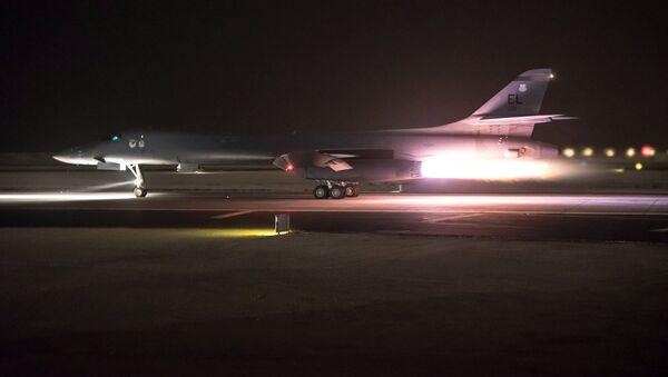 Un B-1B Lancer participa en el ataque de EEUU contra Siria - Sputnik Mundo