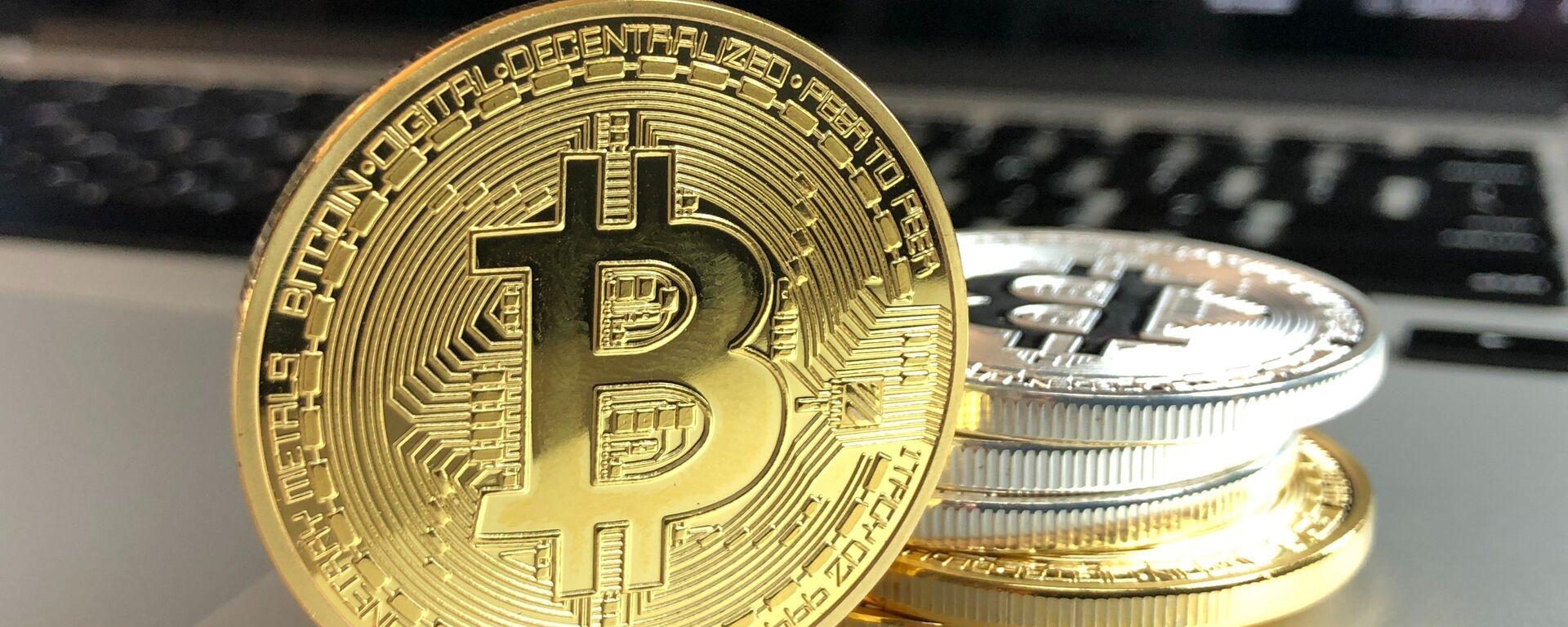 Bitcoin, moneda criptográfica - Sputnik Mundo, 1920, 12.06.2021