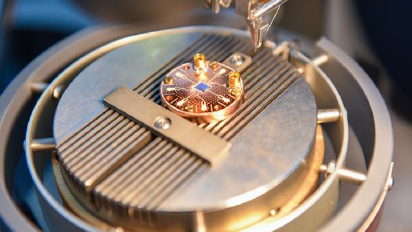 Detalle de una computadora cuántica - Sputnik Mundo