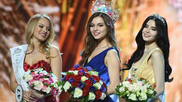 Esta son las chicas más despampanantes de Miss Rusia 2018 - Sputnik Mundo