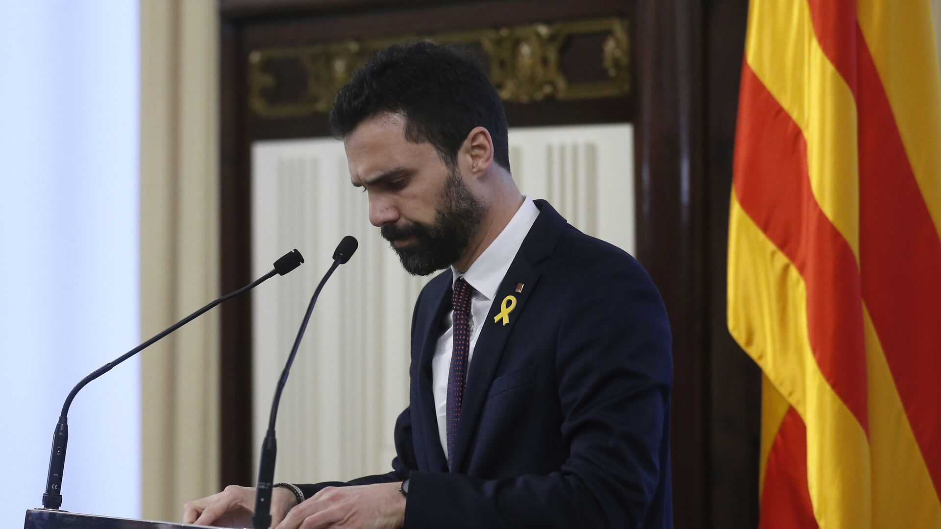 Roger Torrent, el presidente del Parlamento de Cataluña - Sputnik Mundo, 1920, 26.07.2021