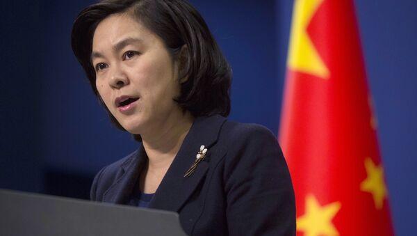 Hua Chunying, portavoz del Ministerio chino de Asuntos Exteriores - Sputnik Mundo