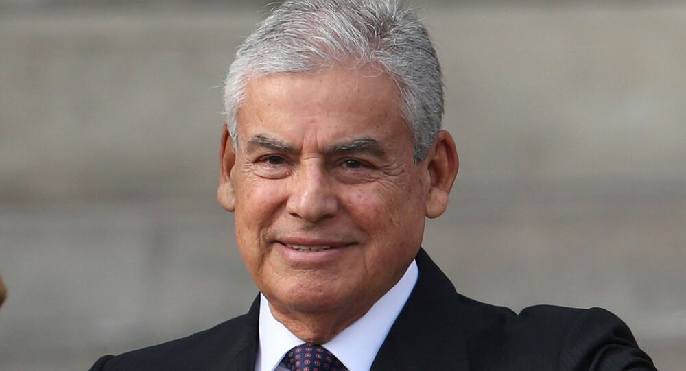 César Villanuev, primer ministro de Perú (archivo)