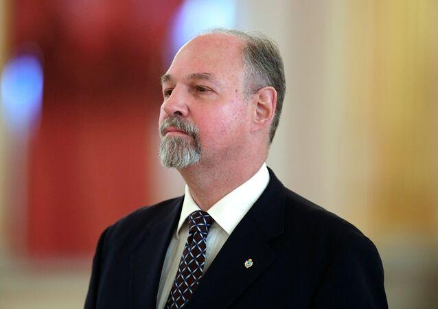 Ricardo Ernesto Lagorio, embajador de Argentina en Rusia (archivo)
