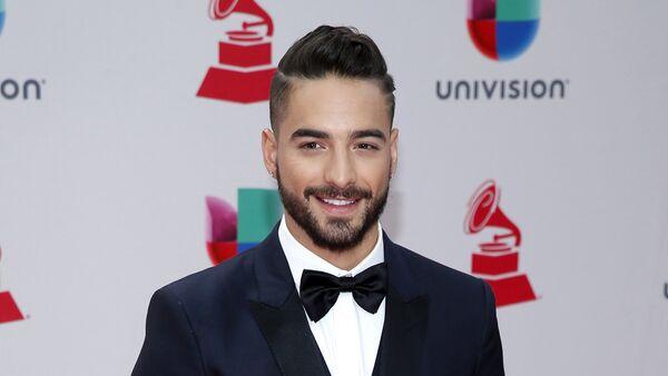 Maluma durante la 18 premiación de los Grammy Latinos en Las Vegas - Sputnik Mundo