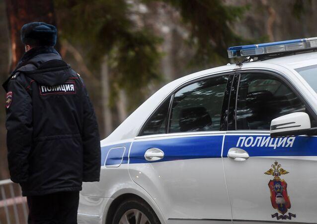 Un policía ruso (imagen referencial)