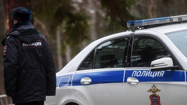 Un policía ruso (imagen referencial) - Sputnik Mundo