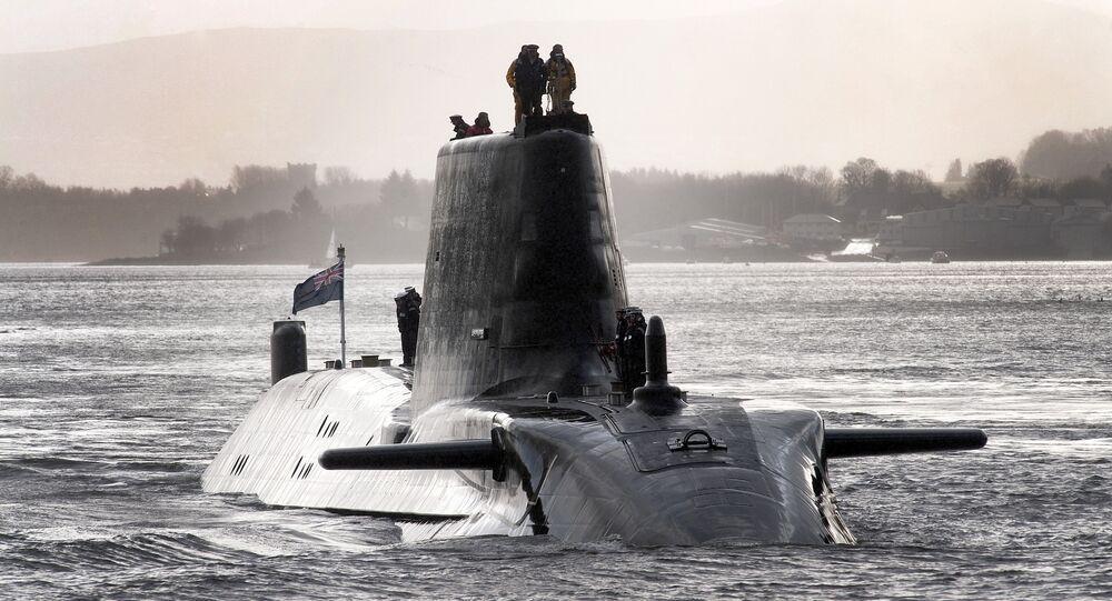 HMS Astute, un submarino nuclear del Reino Unido
