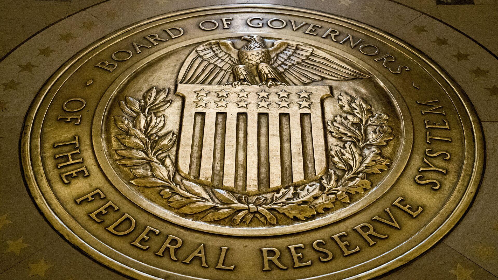 El sello del Consejo Superior de la Reserva Federal de EEUU - Sputnik Mundo, 1920, 24.02.2021