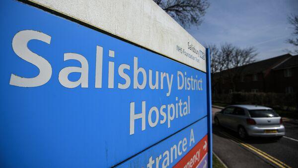 Hospital en Salisbury, Reino Unido (archivo) - Sputnik Mundo