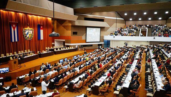 Asamblea Nacional de Cuba vota a sus autoridades - Sputnik Mundo