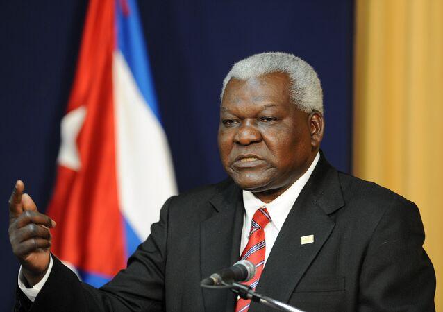 Esteban Lazo, presidente de la Asamblea Nacional de Poder Popular de Cuba