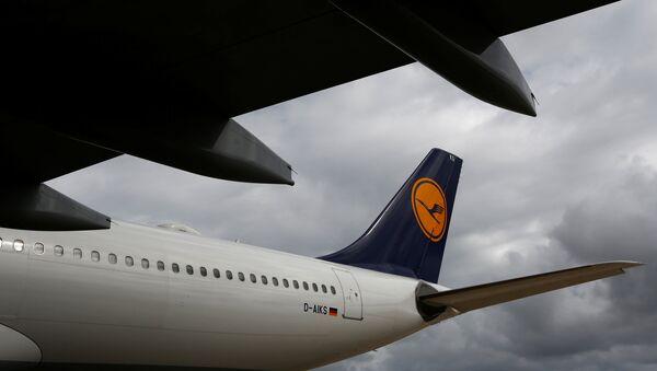 Un avión de Lufthansa - Sputnik Mundo
