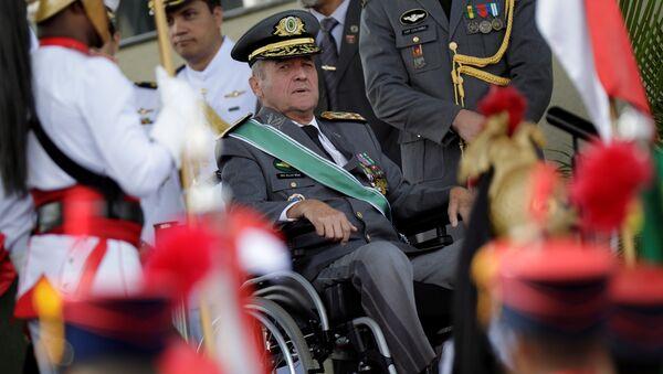 Eduardo Villas Boâs, comandante del Ejército brasileño - Sputnik Mundo