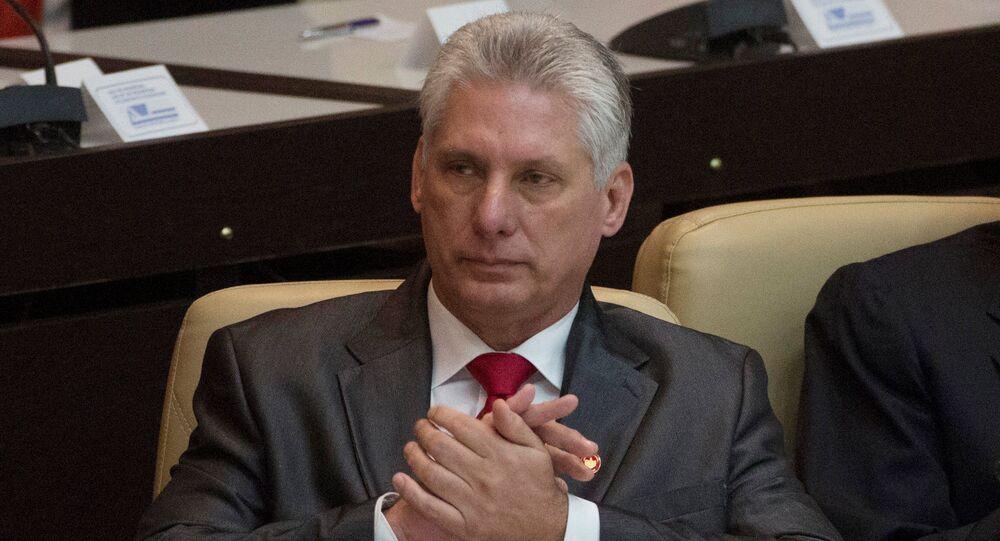 Miguel Díaz-Canel, presidente electo de Cuba