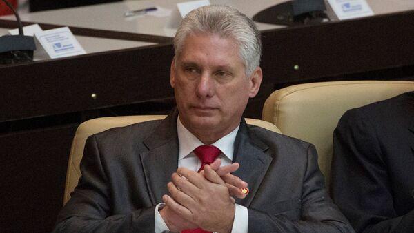 Miguel Díaz-Canel, presidente electo de Cuba - Sputnik Mundo