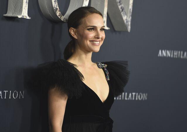 Natalie Portman, la actriz israelí y estadounidense