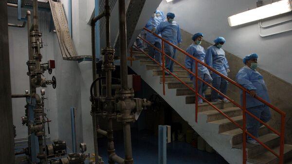Dentro de una planta nuclear iraní, foto de archivo - Sputnik Mundo