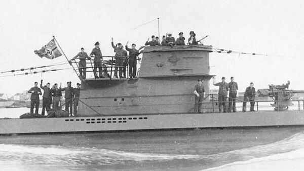 Submarino nazi U-2513 del Tipo XXI (archivo) - Sputnik Mundo
