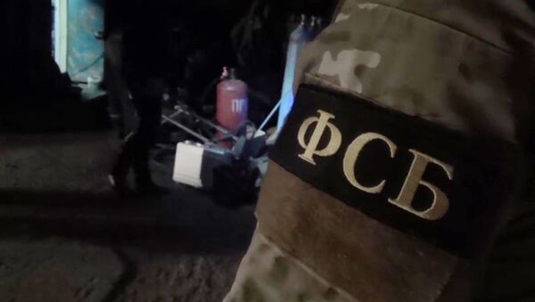 Operativo del FSB (archivo) - Sputnik Mundo